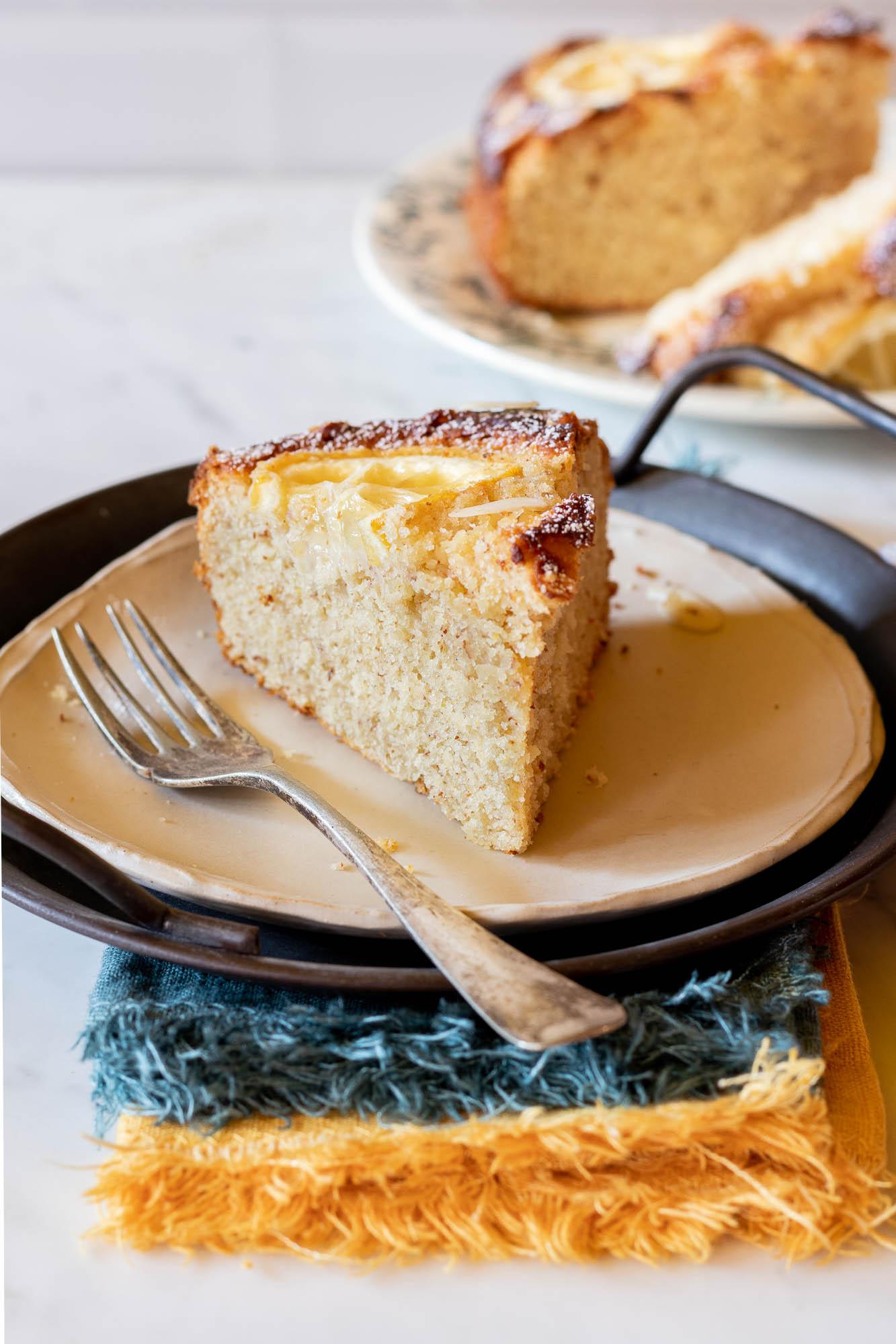 pan di limone alle mandorle senza glutine
