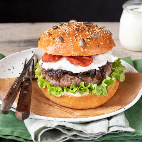 Burger buns farciti