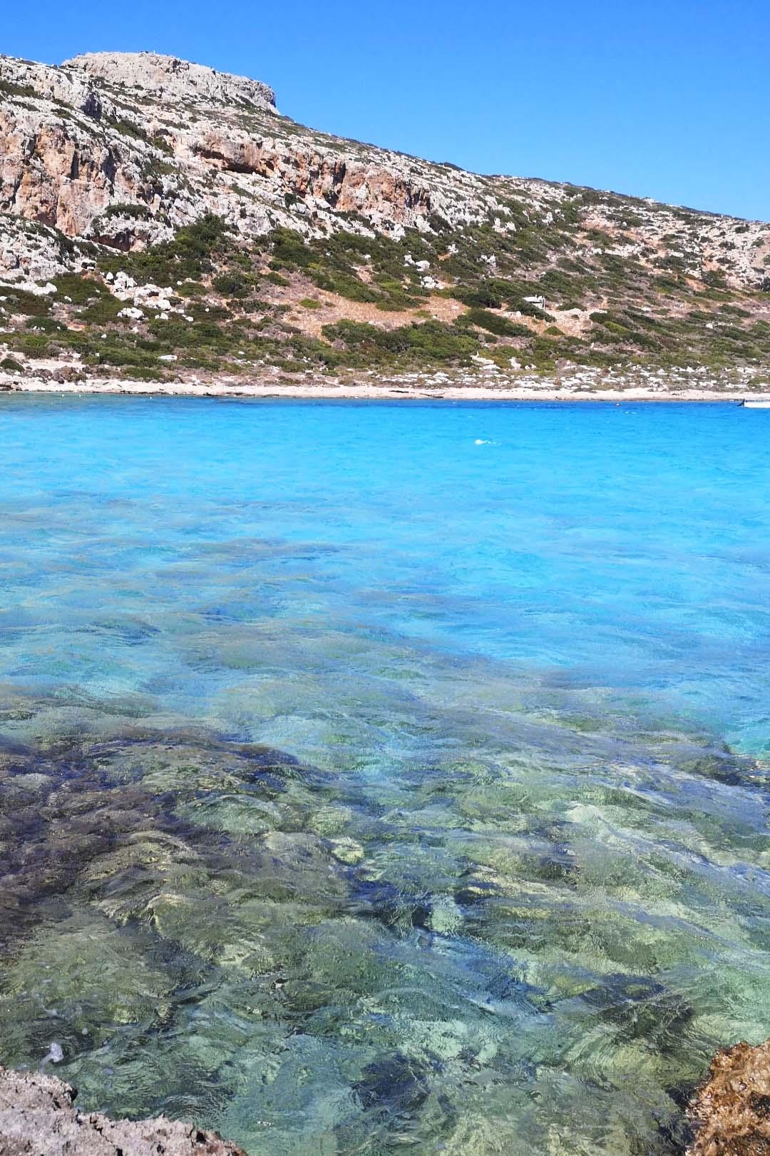 Il mare di Balos