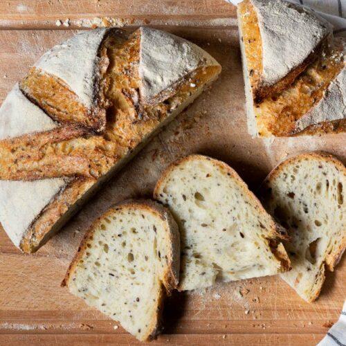 Pane ai semi di grano duro